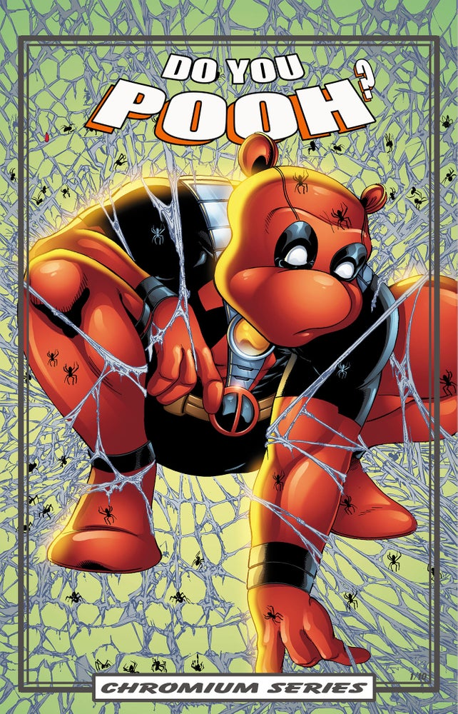 Image of Do You Pooh? #1 Todd McFarlane's Spider-Man CHROMIUM Series Variant by Marat Mychaels (Artist Proof)