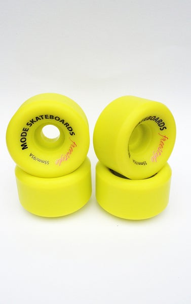 Image of MODE 55mm/95A Freestyle Wheel (lime)