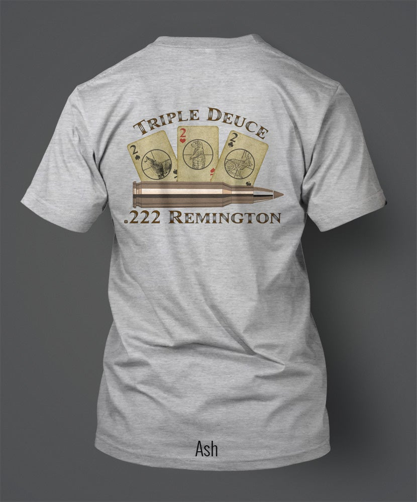Small Caliber Store — .222 Remington T-Shirt -