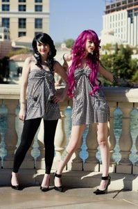 Image of Houndstooth dress