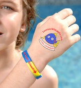 Image of Mr. Blue Supper Swimmer Tatoo