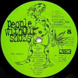 """Image of People Without Shoes """"Escape The Streets"""" 12"""" Vinyl (Autographed)"""