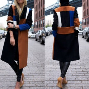 Image of Brown Color Block Trench