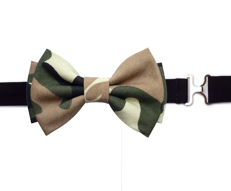 Image of Camouflage Bow Tie