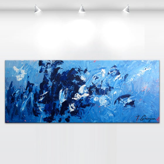 Image of 'Glaciem Fenestra' - 60x152cm