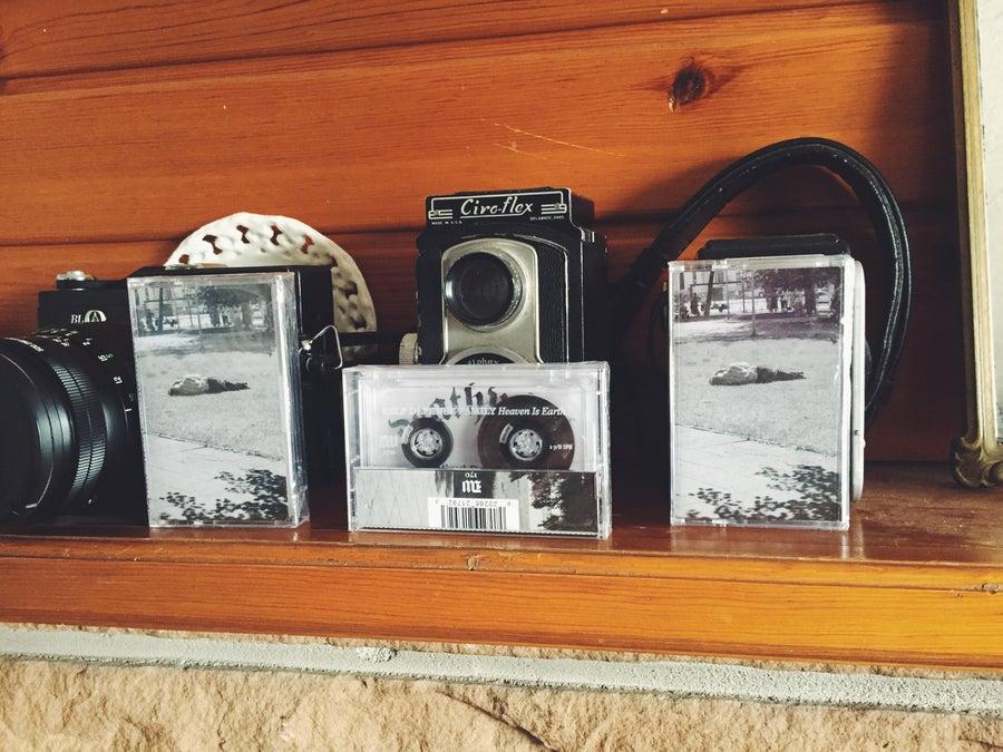 "Image of ""Heaven Is Earth"" cassette tape."