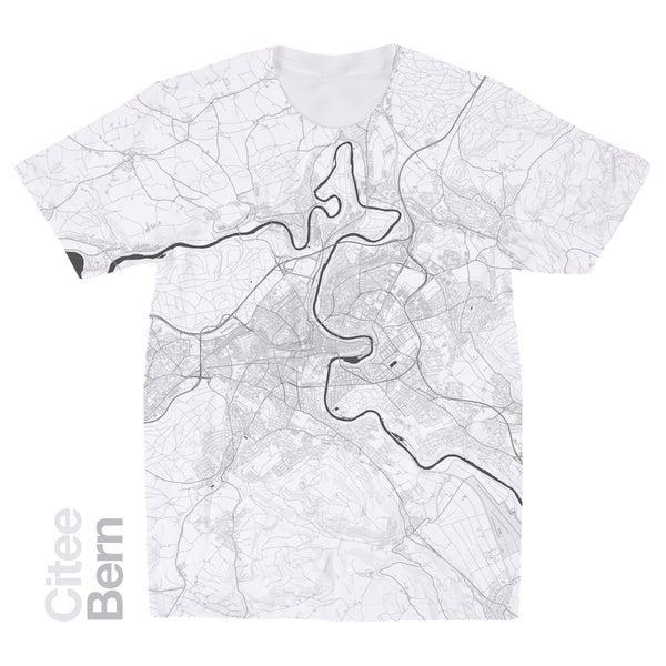 Image of Bern map t-shirt