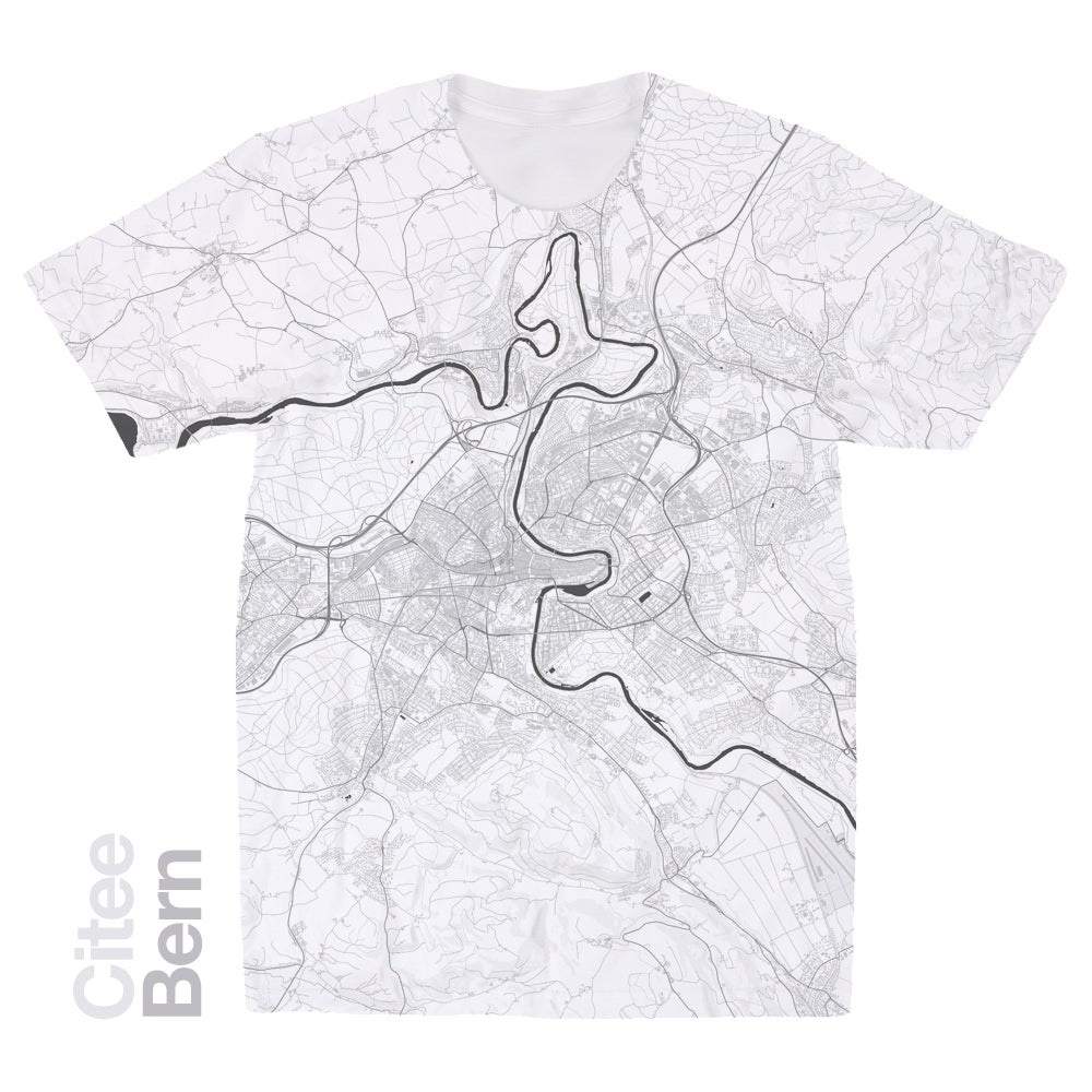 Image of Bern map t-shirt