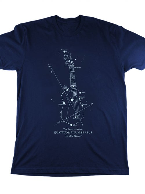 Image of Ukulele Constellation T-Shirt