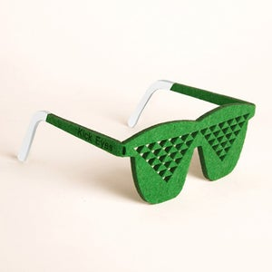Image of Kick Eyes Party Glasses-Fake Disco