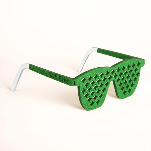Image of Kick Eyes Party Glasses-Wave