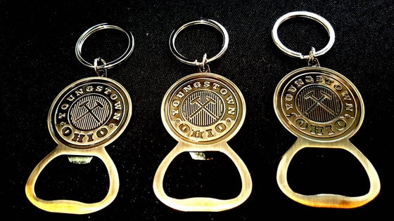 Image of Youngstown Bottle Opener Keychain