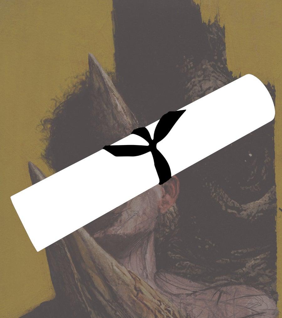 "Image of ""Behind The Black Eyes"" Poster"