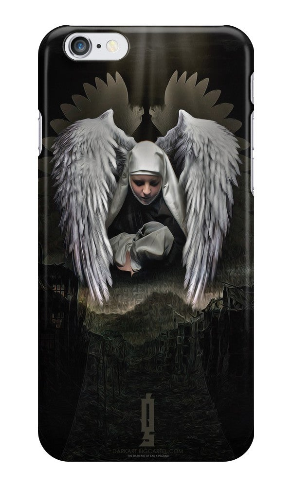 """Image of """"Angel"""" iPhone Tough Case"""