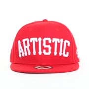 Image of The OG Artistic Snapback - Red