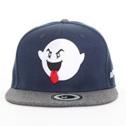 Image of The Boogie Logo Snapback- Navy/Gray