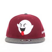 Image of The Boogie Logo Snapback- Maroon/Gray
