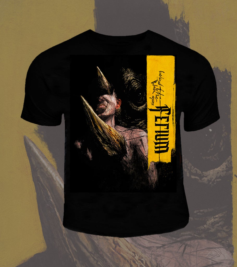 Image of Behind The Black Eyes T-Shirt