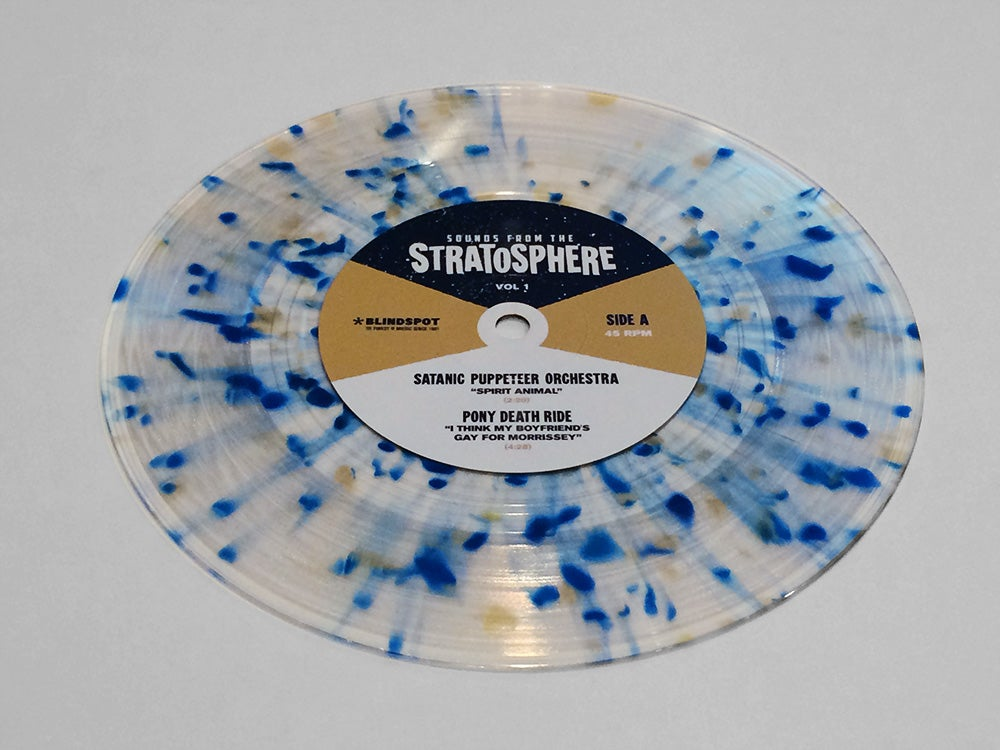 Image of VA - Sounds from the Stratosphere 7""