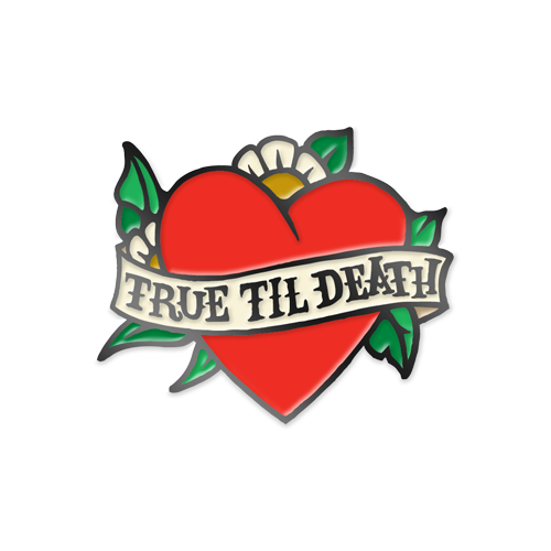 Image of Path Of Resistance - Heart Enamel Pin