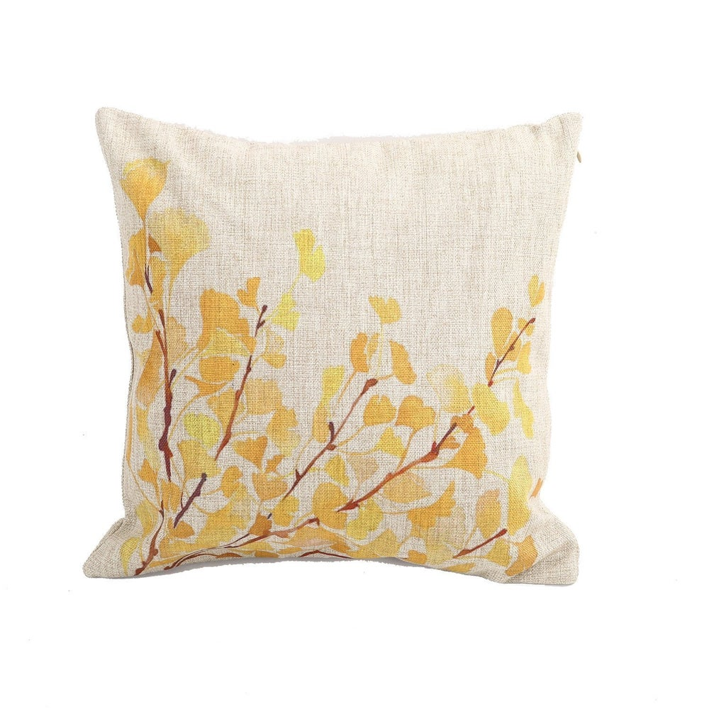 Image of Pillowcase: Amber poppies
