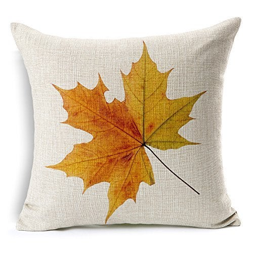 Image of Pillowcase: Yellow Maple