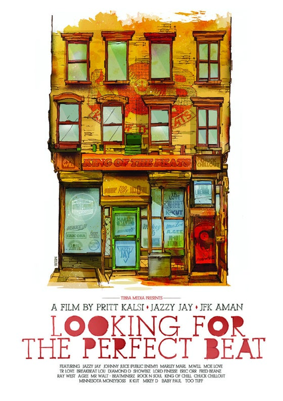 Image of King of the Beats - Looking for the Perfect Beat - Movie Poster