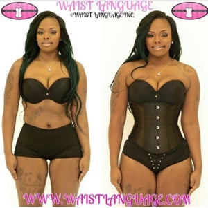 Image of The Mermaid Corset Black