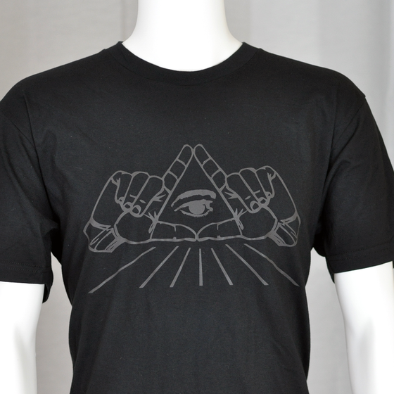 Image of All Seeing Eye Reflective t-shirt