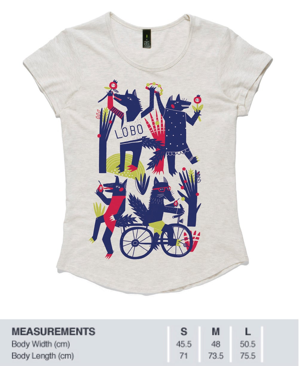Image of LOBO limited release Womens T shirt (email us to check availability)