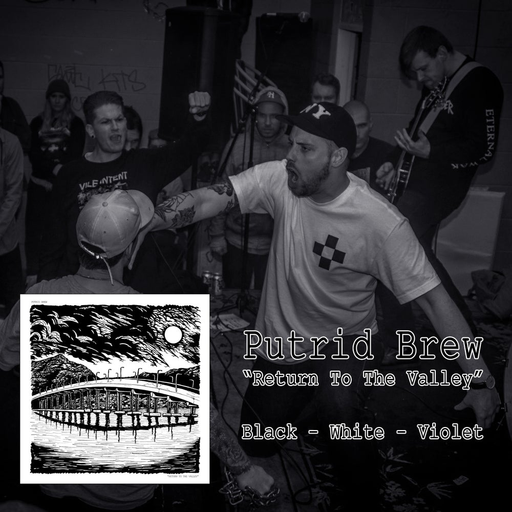 """Image of PUTRID BREW - RETURN TO THE VALLEY 12"""" LP"""