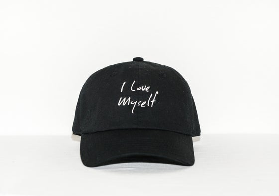 Image of Black I Love Myself hat