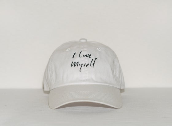 Image of White I Love Myself hat