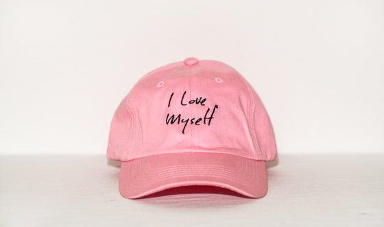 Image of Pink I Love Myself hat
