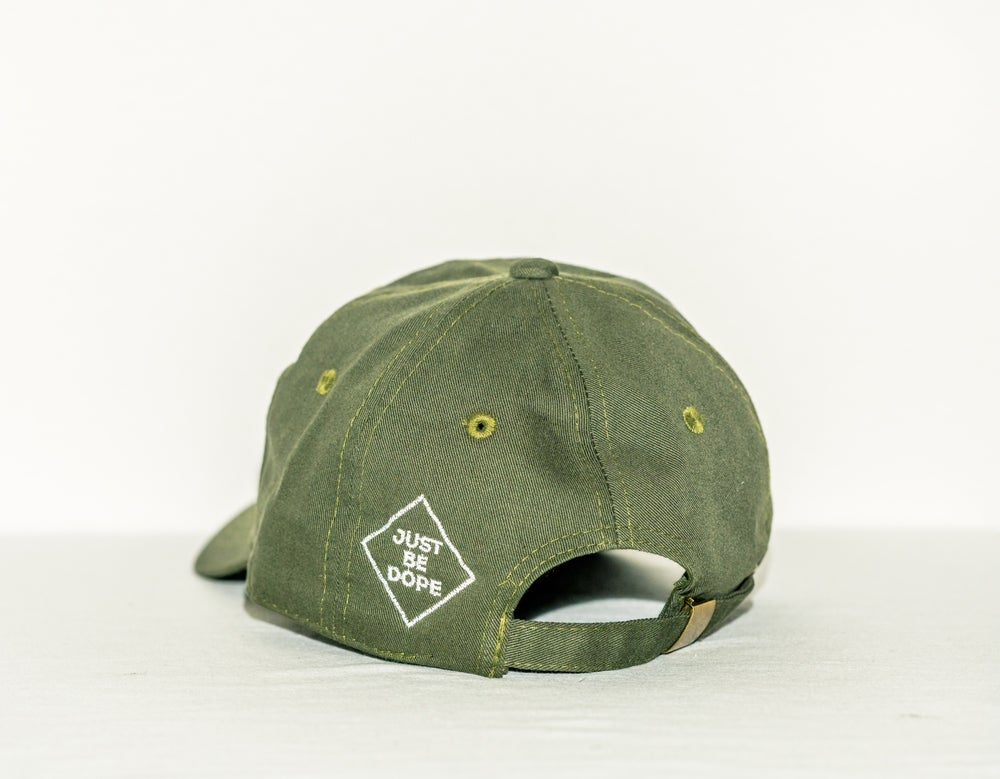 Image of Green I love myself hat