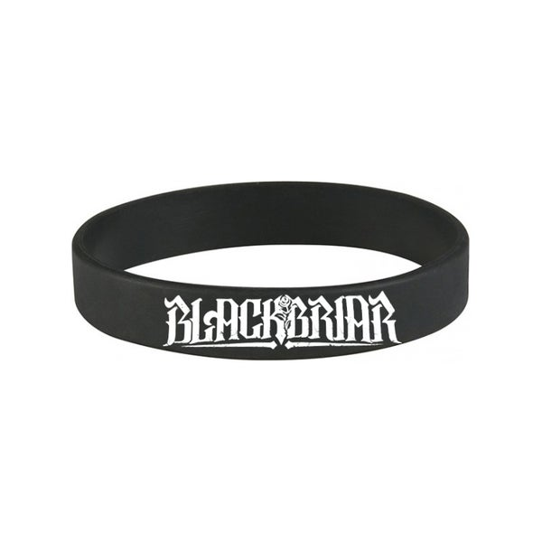 Image of Blackbriar Wristband [WHITE LOGO]
