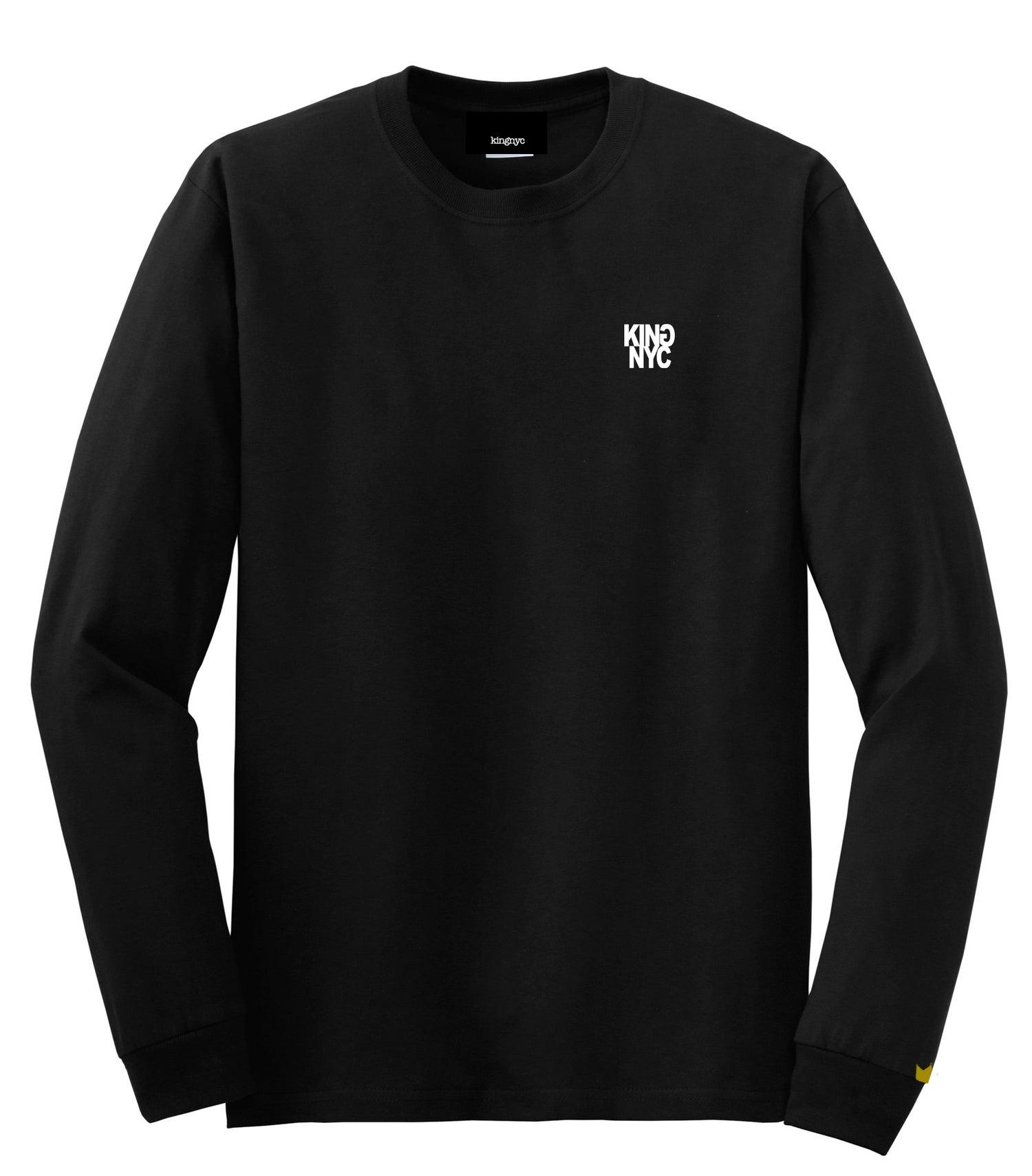 Image of KingNYC Reversed G LS T-Shirt