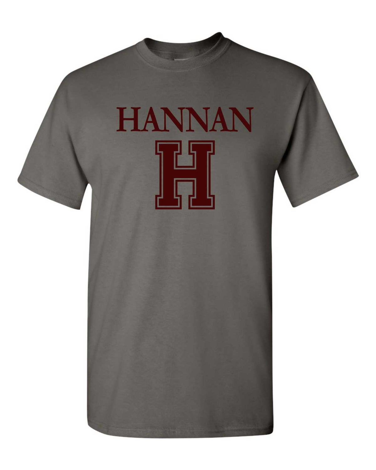 "Image of Charcoal ""H"" Tee"