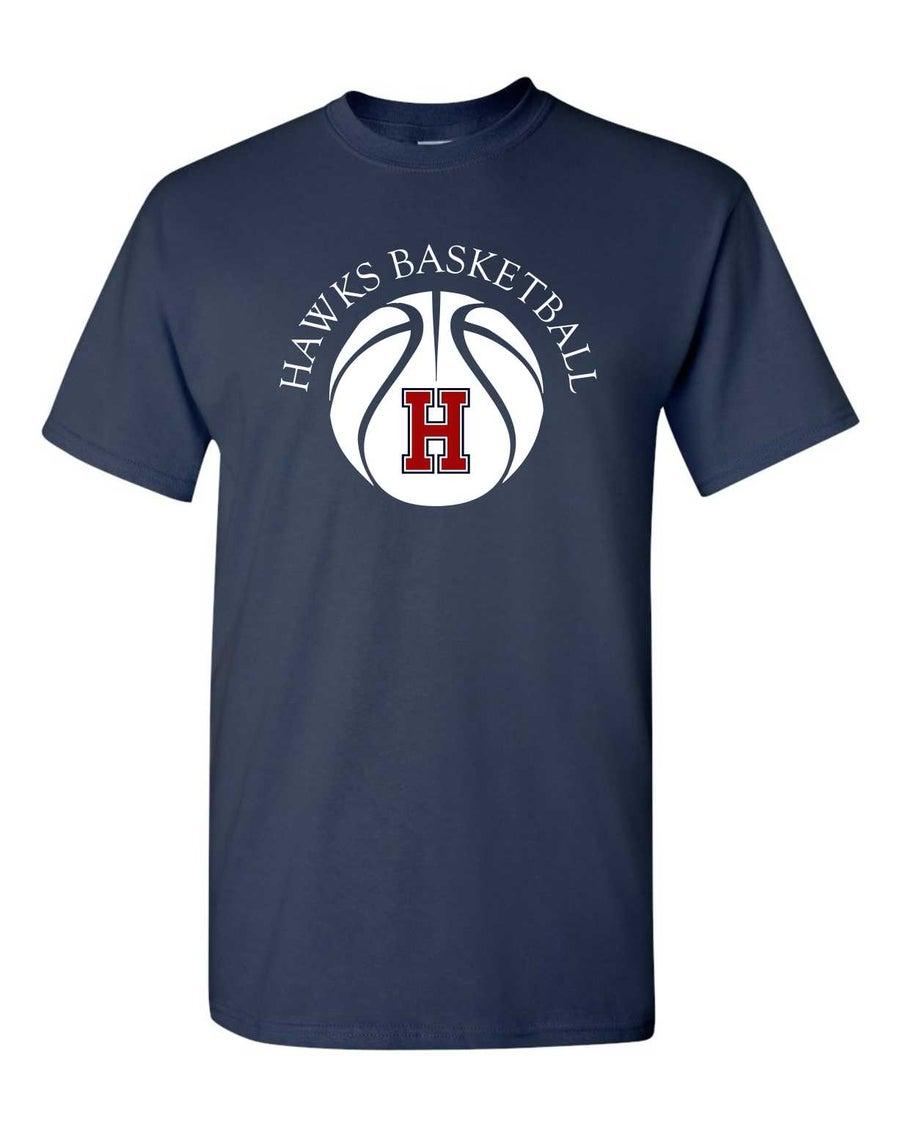 Image of H Basketball Tee