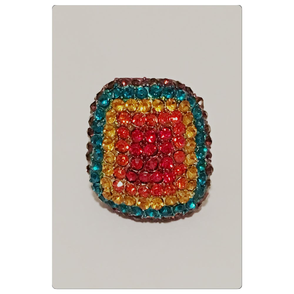 Image of Colorful Gem Ring