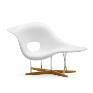 Image of Eames La Chaise Chair Miniature 1/12 scale