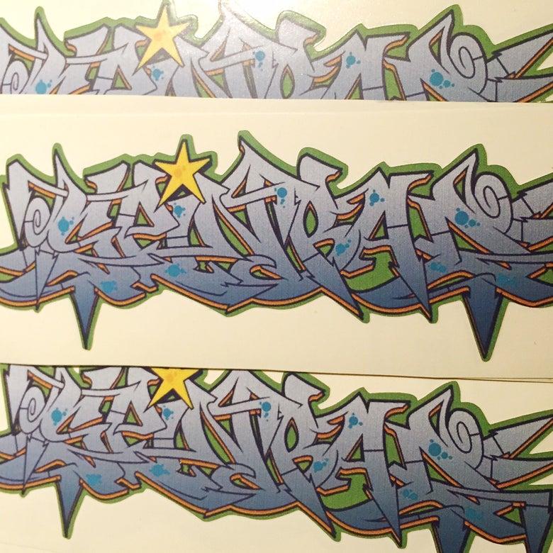 """Image of Spinbad """"Graff"""" Sticker"""