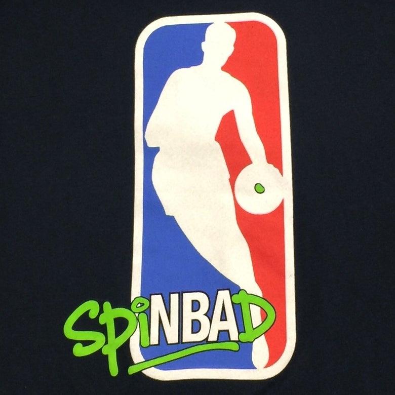 "Image of Spinbad ""NBA"" Tee"