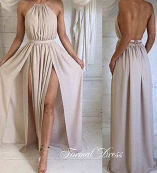 Image of HOT CUTE ELEGANT LONG DRESS
