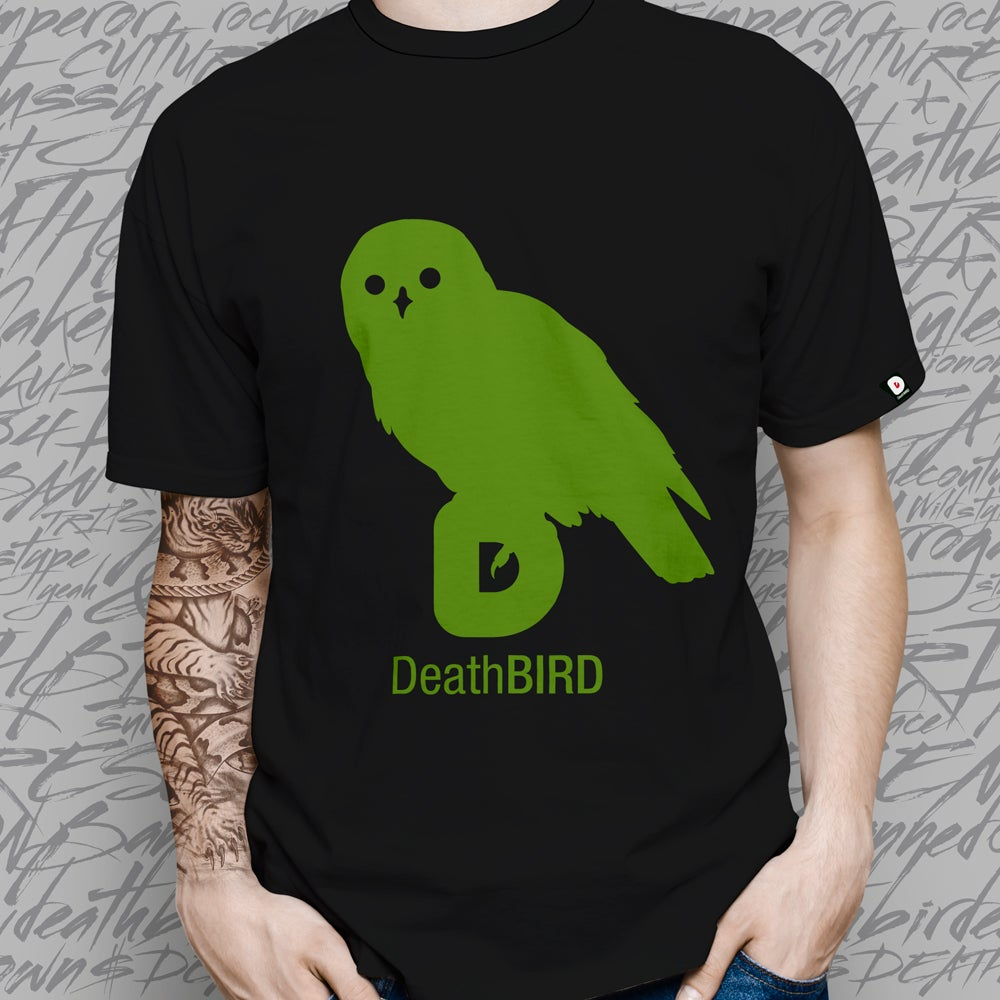 Image of DeathBIRD Top Tee Black