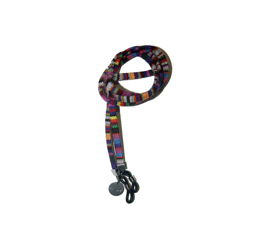 Foto de Cordón para gafas boho-chic - Electric Pride
