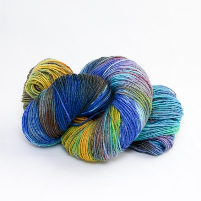 Image of Snowflake nr: 23 - Snow Dyed Sock Yarn - Monday Base