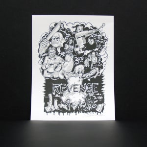 "Image of STEVEN HUIE - CRO-MAGS ""REVENGE"" PRINT"