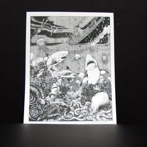 Image of STEVEN HUIE - LOST AT SEA PRINT