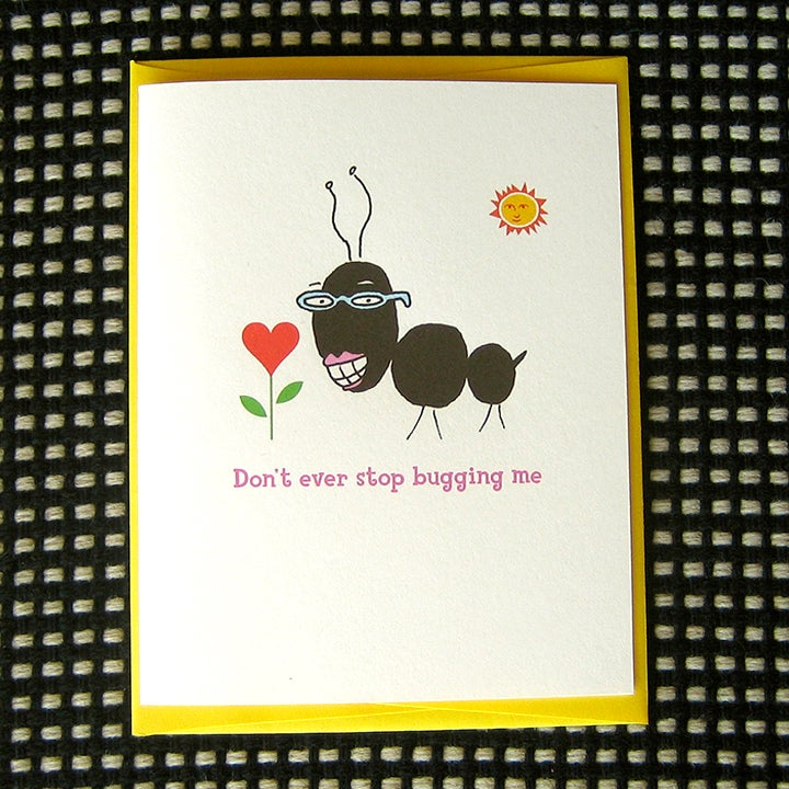 Image of LOVEBUG GREETING CARD